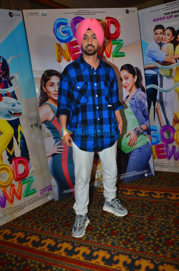 Photos Akshay Kumar, Kareena Kapoor Khan, Kiara Advani and Diljit Dosanjh snapped promoting their film Good Newwz (2)