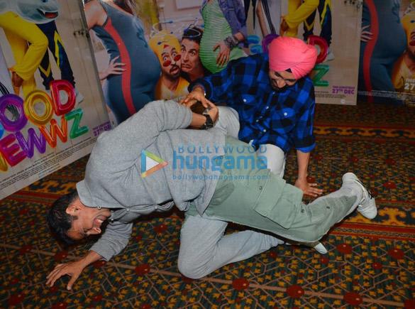 Photos Akshay Kumar, Kareena Kapoor Khan, Kiara Advani and Diljit Dosanjh snapped promoting their film Good Newwz (3)