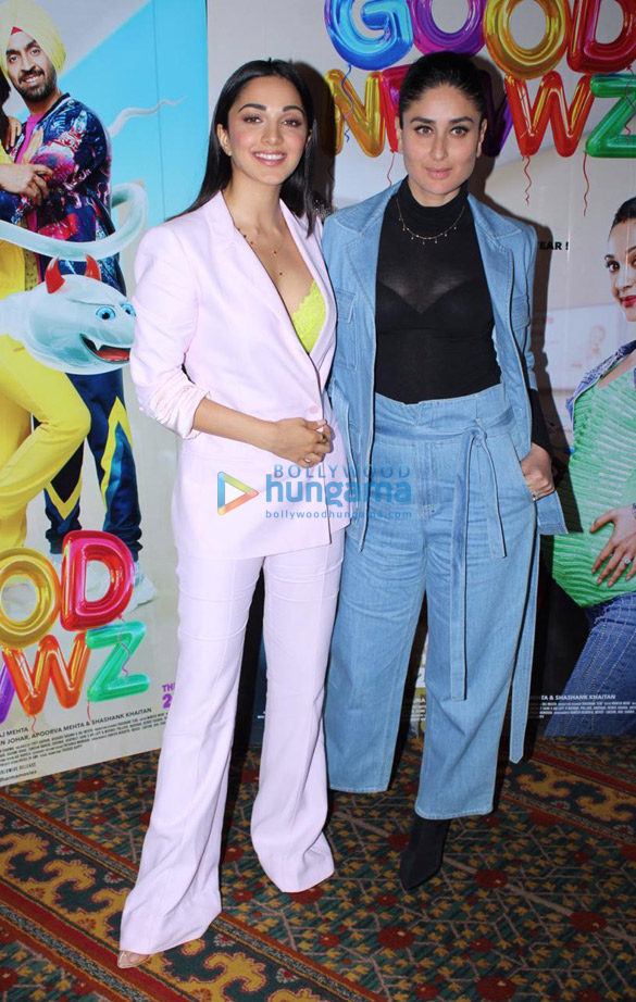 Photos Akshay Kumar, Kareena Kapoor Khan, Kiara Advani and Diljit Dosanjh snapped promoting their film Good Newwz (9)