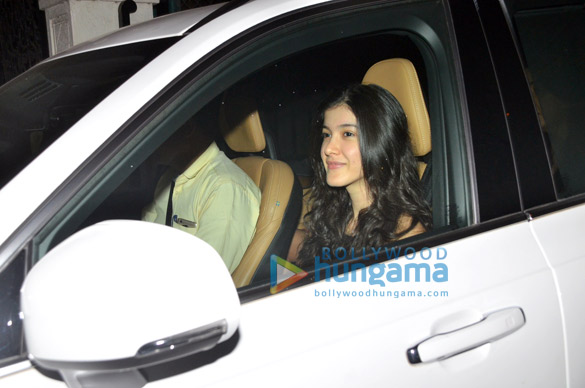 Photos Janhvi Kapoor, Khushi Kapoor, Shanaya Kapoor and Boney Kapoor grace Anshula Kapoor's birthday bash (5)
