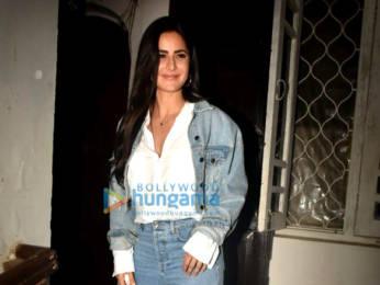 Photos: Katrina Kaif spotted at Krome Studio in Bandra