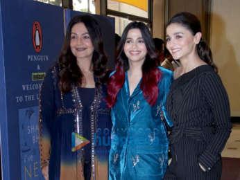 Photos: Mahesh Bhatt, Soni Razdan, Alia Bhatt and Pooja Bhatt grace the launch of Shaheen Bhatt's debut book 'I've Never Been (un)Happier'