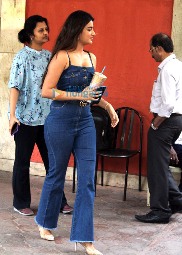 Photos: Nidhhi Agerwal snapped in Juhu