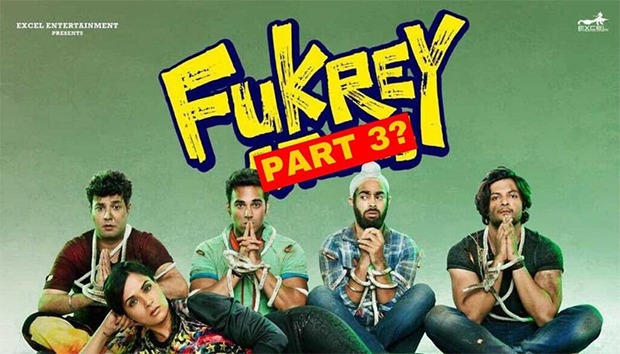Pulkit Samrat and Ritesh Sidhwani hint at Fukrey 3