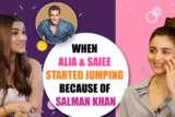 SALMAN KHAN IMPACT When Alia Bhatt & Saiee Manjrekar started JUMPING Dabangg 3 Inshallah
