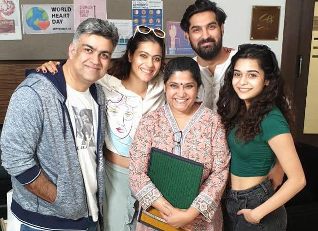 It's a wrap for Netflix original Tribhanga starring Kajol, Mithila Palkar, Tanvi Azmi & Kunaal Roy Kapur