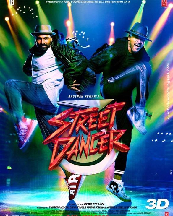 Street Dancer 3D (2020) Hindi Movie 480p PreDvDRip x264 400MB