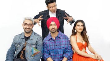 On The Sets Of The Movie Suraj Pe Mangal Bhaari