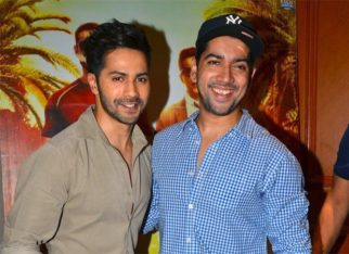 Varun Dhawan reunites with brother Rohit Dhawan for the sequel of Dishoom
