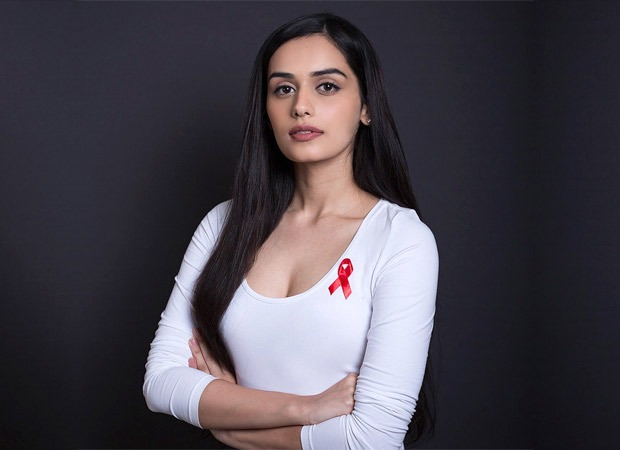 Manushi Chhillar promotes AIDS awareness among women in India!