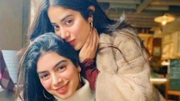 Janhvi Kapoor and sister Khushi give out major sibling goals; get similar tattoos