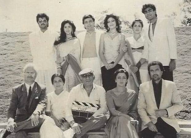Throwback: When a 33-year-old Anupam Kher played father to Hema Maliniand grandfather to Rishi Kapoor