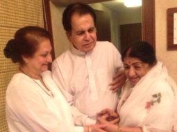 Dilip Kumar overjoyed with 'choti behen' Lata Mangeshkar's homecoming from the hospital, see tweet