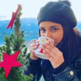 Parineeti Chopra is beating the Austria cold with hot chocolate! See photos