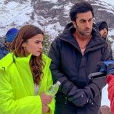 Brahmastra: Ranbir Kapoor and Alia Bhatt shoot in a snow-clad Manali