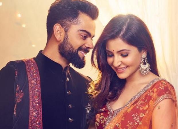 Anushka Sharma and Virat Kohli shoot for a new ad; see pic