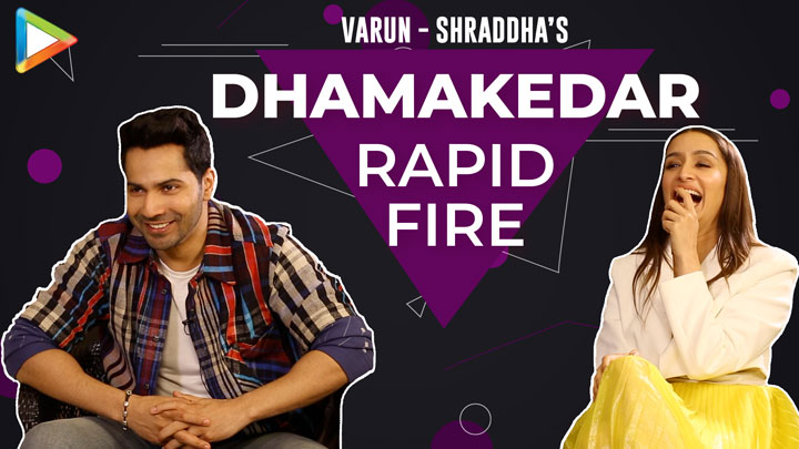 BLOCKBUSTER Varun-Shraddha's rapid fire on Prabhas, SRK, Hrithik, Salman, Tiger Street Dancer 3D
