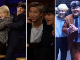 BTS members play Hide and Seek as Ashton Kutcher lifts Jin and Jimin in this hilarious segment on James Corden's show