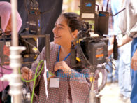 on the sets of the movie Chhapaak