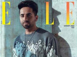 Ayushmann Khurrana on the cover of Elle, Jan 2020
