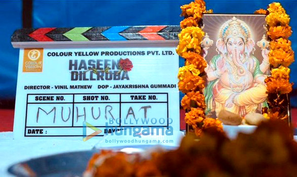 On The Sets Of The Movie Haseen Dillruba
