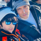 Hrithik Roshan and Sussanne Khan enjoy snowy vacation with their sons and modern family in France