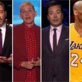 Jimmy Kimmel, Ellen Degeneres, Jimmy Fallon break down while paying tribute to late NBA player Kobe Bryant