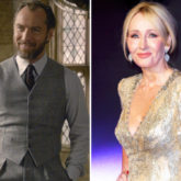 Jude Law reveals J.K. Rowling spent three hours with him to explain Dumbledore's character for Fantastic Beasts