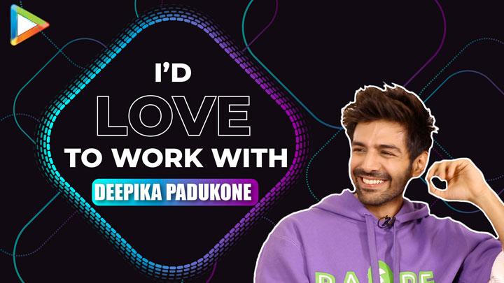 "Kartik Aaryan ""Deepika Padukone is one of the BRIGHTEST Shining Star & she's also…"""