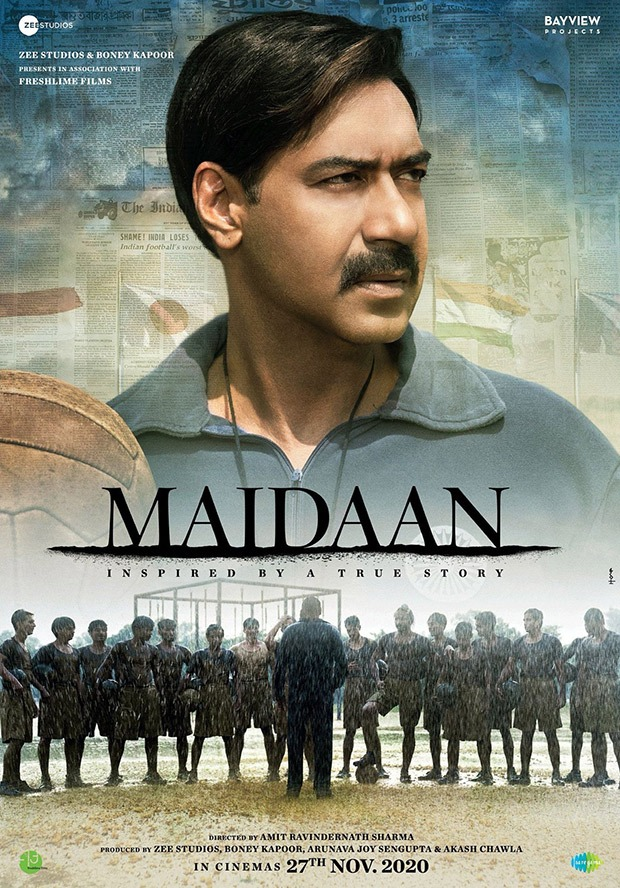 Maidaan First Look Ajay Devgn plays football coach Syed Abdul Rahim in this upcoming biopic