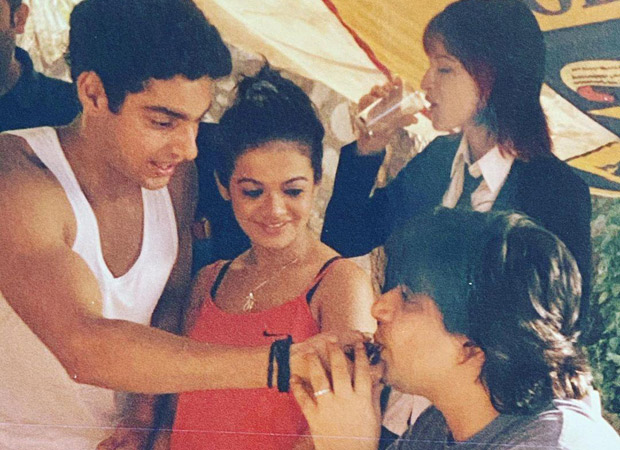 NOSTALGIA ALERT! Karan Wahi shares throwback pictures from the sets of Remix to wish producer Goldie Behl