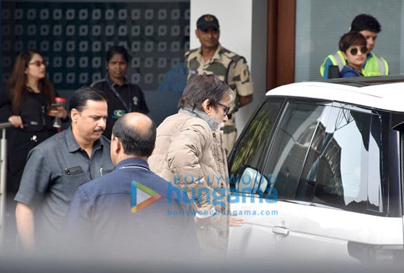 Photos Amitabh Bachchan and Aishwarya Rai Bachchan snapped at the airport in Kalina (6)