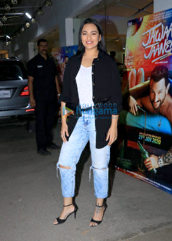 Photos Celebs attend the special screening of the film Jawaani Jaaneman at Juhu PVR1 (6)