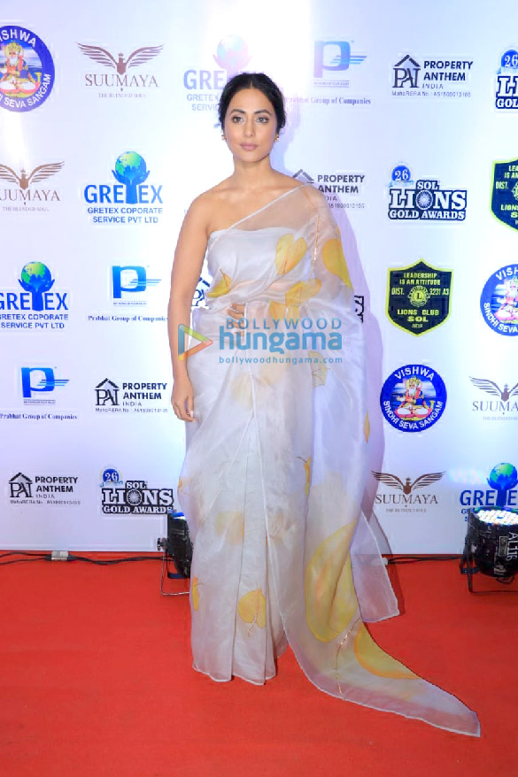 Photos Celebs grace the 26th SOL Lions Gold Awards 2020 (5)