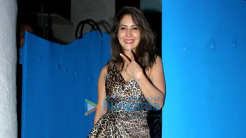 Photos: Celebs snapped at Kim Sharma's birthday celebration at Olive in Bandra