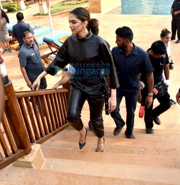Photos Deepika Padukone and Vikrant Massey snapped promoting their film Chhapaak (6)