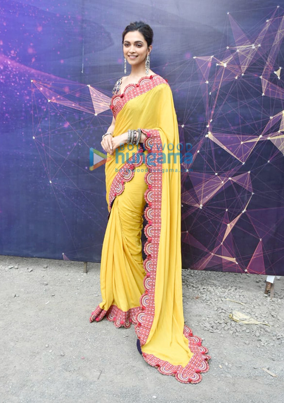 Photos Deepika Padukone snapped promoting Chhapaak (2)