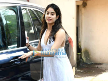 Photos: Janhvi Kapoor spotted at the Pilates gym