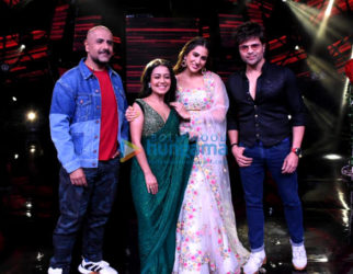 Photos: Sara Ali Khan and Kartik Aaryan promote Love Aaj Kal on Indian Idol
