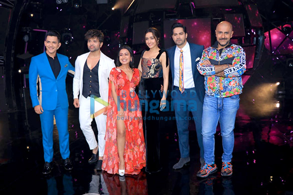Photos: Varun Dhawan and Shraddha Kapoor snapped on sets of Indian Idol promoting their film Street Dancer 3D