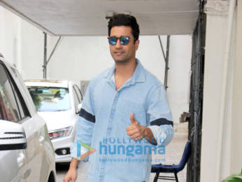 Photos: Vicky Kaushal spotted at Dharma office in Bandra