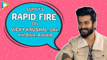 ROFL- Sunny Kaushal ADMITS he had CRUSH on Vicky Kaushal's Gilrfriend Rapid Fire