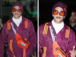 Ranveer Singh aces the airport look in Beyonce's Adidas x Ivy Park collection that costs Rs. 32,000
