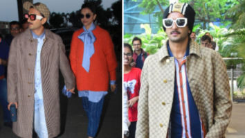Ranveer Singh wears reversible Gucci coat worth whopping Rs. 3 lakhs