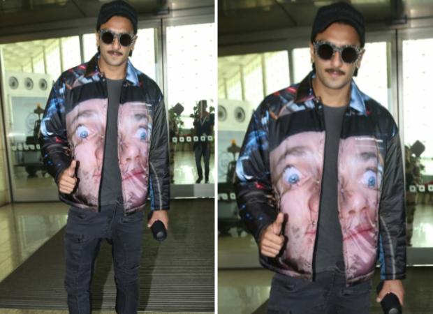 Ranveer Singh's A Clockwork Orange inspired jacket by Japanese designer Jun Takahashi costs almost Rs. 80,000