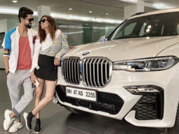 Ravi Dubey and Sargun Mehta are ecstatic as they welcome their luxurious car!