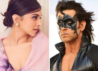 SCOOP Deepika Padukone to be a part of the next Hrithik Roshan starrer Krrish 4