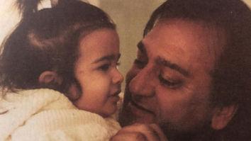 Sanjay Dutt's daughter Trishala Dutt shares a throwback photo with Sunil Dutt