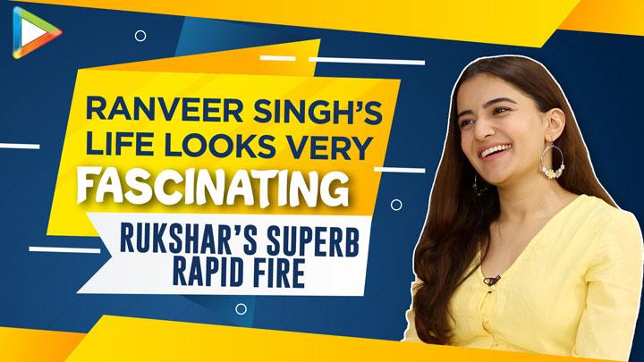 """Shah Rukh Khan – India's BIGGEST Superstar"""" Rukshar's Rapid Fire Hrithik Roshan Ranveer Sara"""