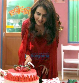 On The Sets from the movie Suraj Pe Mangal Bhari